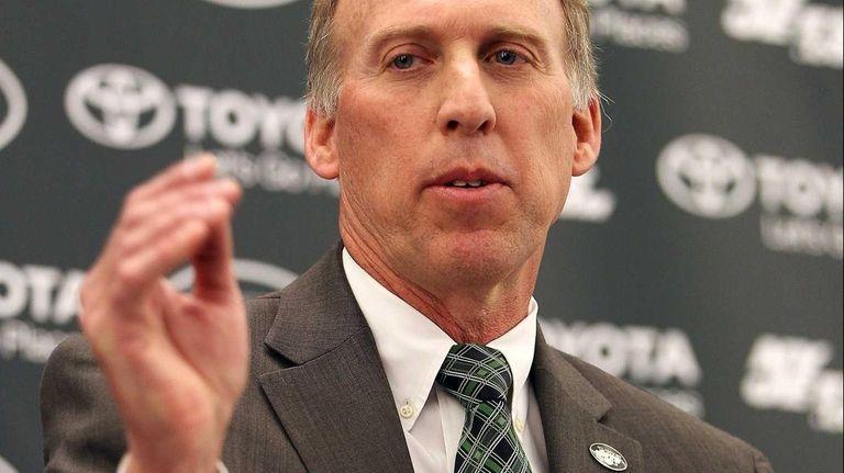 The Jets' new general manager, John Idzik, talks