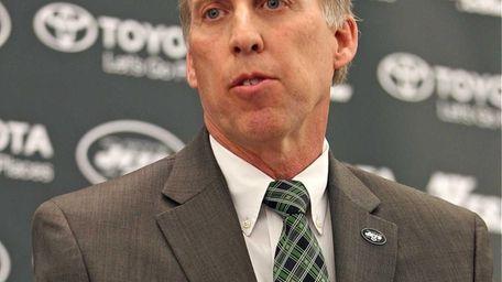 New Jets GM John Idzik talks to the