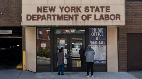 The New York State Department of Labor office