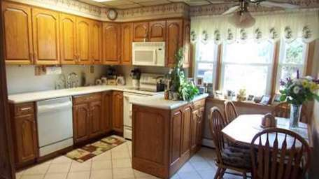 The kitchen in the house at 95 Prentice