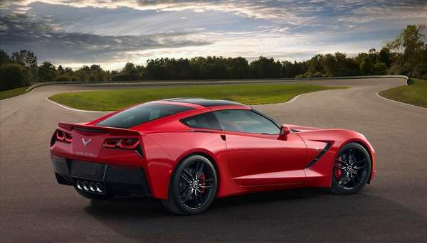 The all-new 2014 Chevrolet Corvette Stingray's provocative exterior