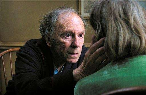 Jean-Louis Trintignant and Emmanuelle Riva star in the