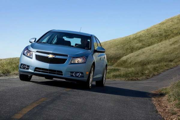 The 2013 Chevrolet Cruze received an overall safety