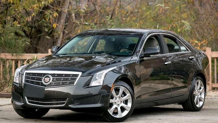The 2013 Cadillac ATS ride quality is confident