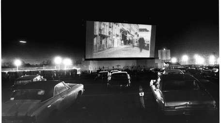 Drive-in theater on Sunrise Highway in Valley Stream