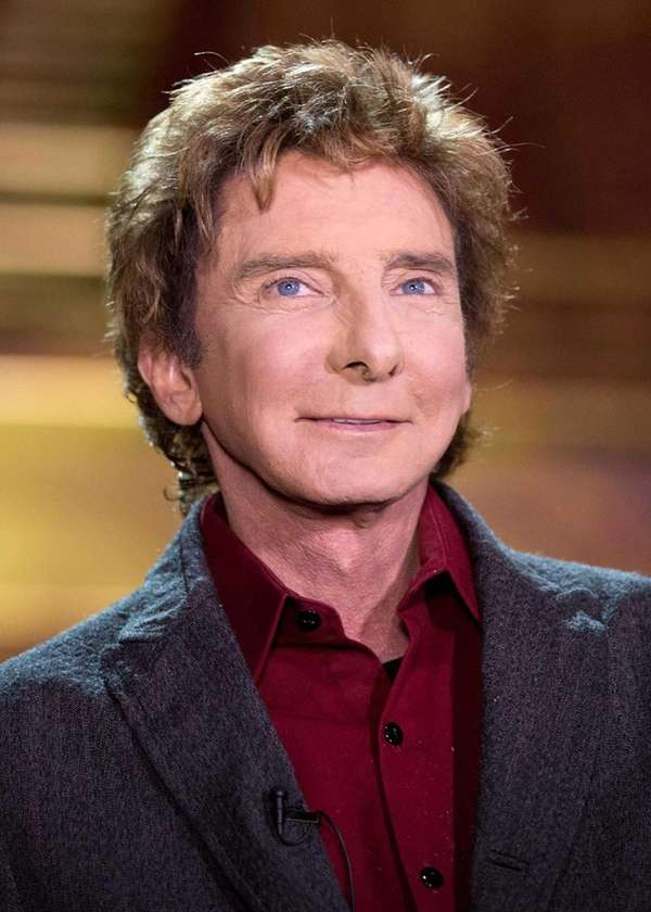 Barry Manilow appears at a press preview for