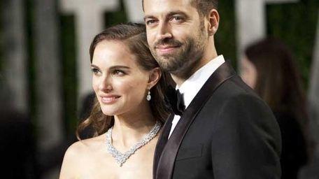 Natalie Portman and husband Benjamin Millepied (Getty Images)