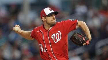 Nationals pitcher Max Scherzer is the only player