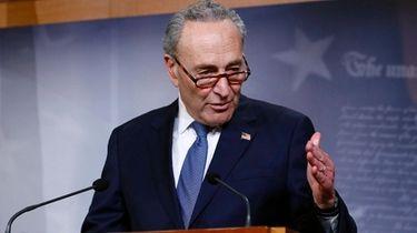 Senate Minority Leader Sen. Chuck Schumer (D-N.Y.) last