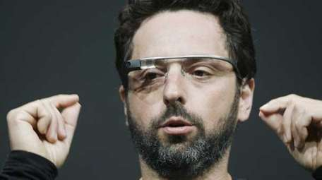 Sergey Brin, co-founder of Google with the Google
