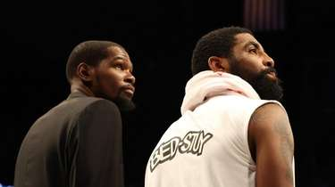 Will Kevin Durant and Kyrie Irving play if