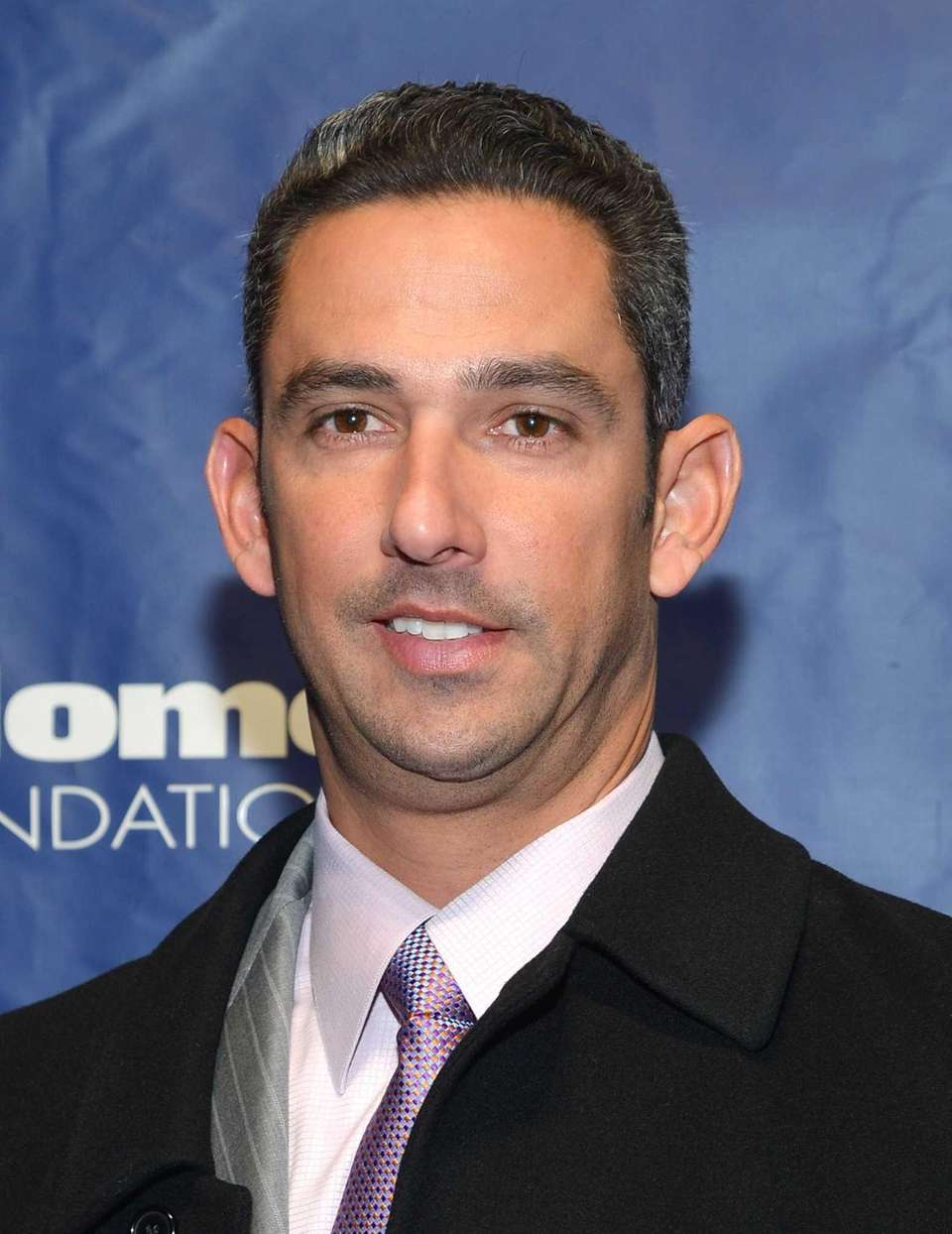 Former Yankee Jorge Posada attends the Joe Torre