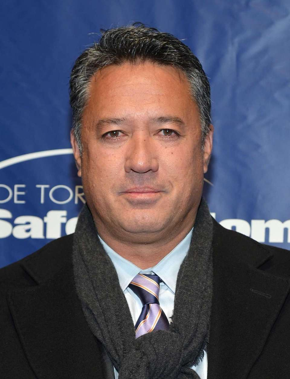 Former professional baseball player Ron Darling attends Joe