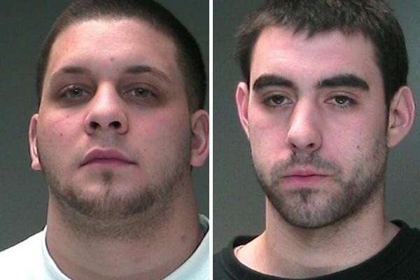Philip Mazzola, 21, of Patchogue, and Richard Crane,