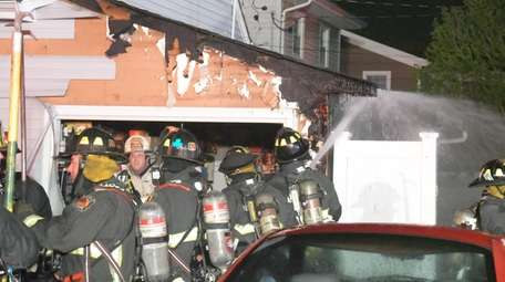The North Massapequa Fire Department responded to house