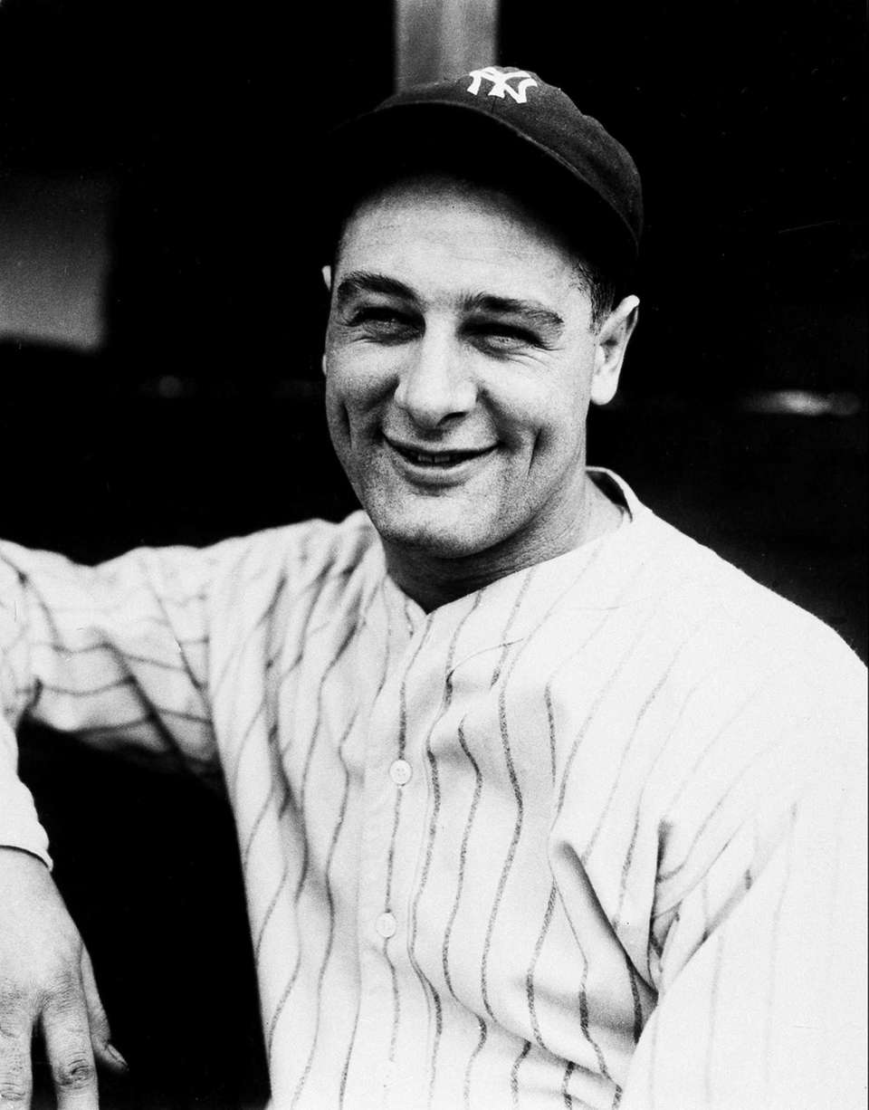1. LOU GEHRIG The legend that surrounds the