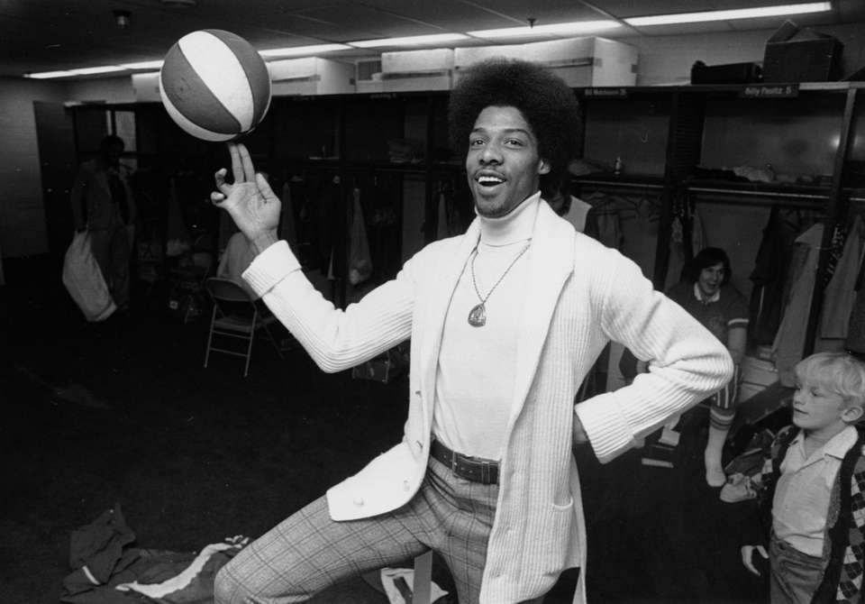 Nets' star Julius Erving was well known for