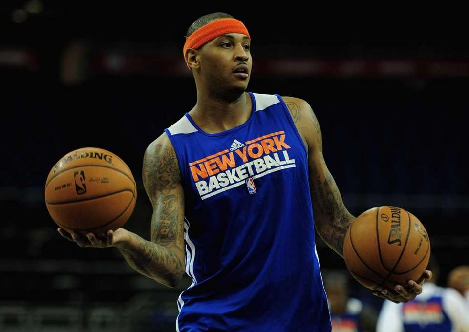 7. Carmelo Anthony Some people believed the Knicks
