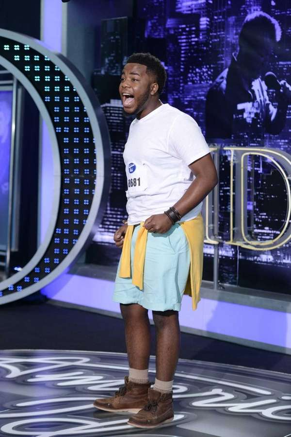 """American Idol"" Baton Rouge auditions: Contestant Burnell Taylor,"