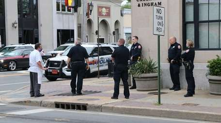 Nassau County police and the Nassau County Fire