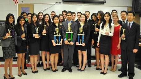 The Syosset High School Forensics Club has won