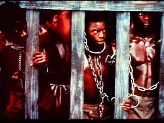 "LeVar Burton in the original TV show, ""Roots."""