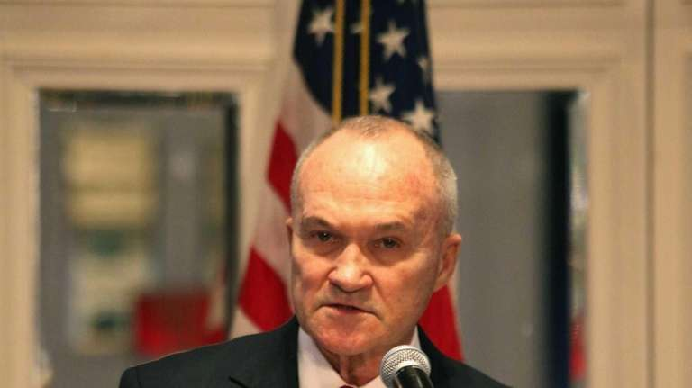 Police Commissioner Ray Kelly delivers his State of