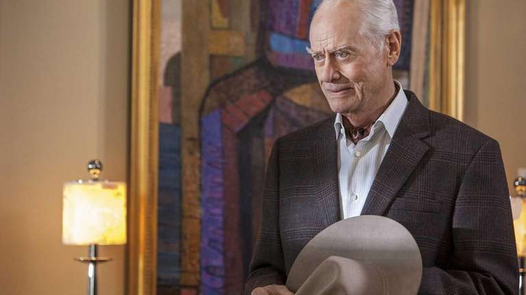 Larry Hagman as J.R. Ewing on the rebooted