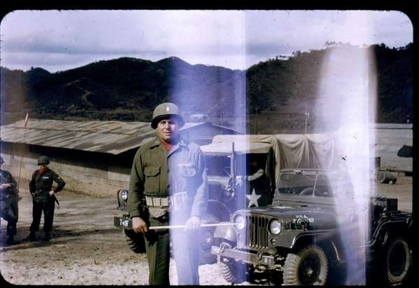 U.S. Army Lt. Angel Norat in Korea in