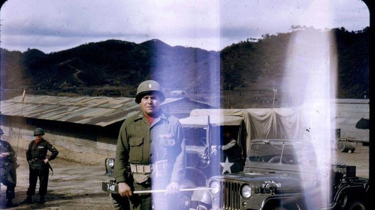 U.S. Army Lt. Angel Norat in Korea in