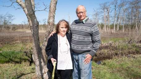 Anita Cohen, 75, and her husband Marty Van