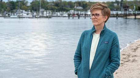 Marci L. Bortman of Huntington, the climate adaptation