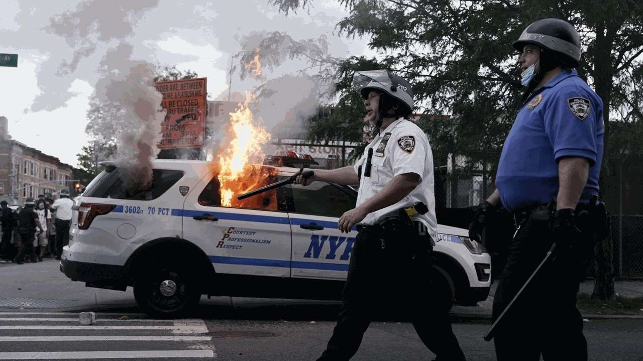 NYC protests over a black man's death at