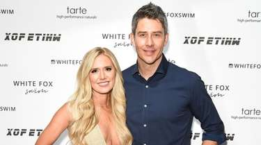 Lauren Burnham and Arie Luyendyk, who met on
