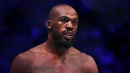 Jon Jones prior to his UFC light heavyweight