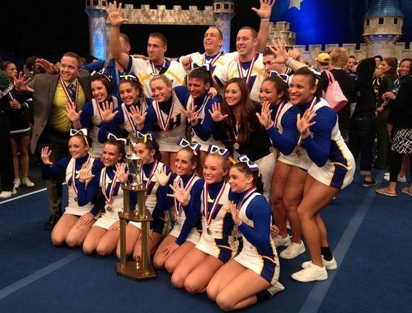 Hofstra University's cheerleading team took home the national