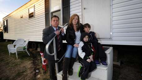 Frank and Beth Rinaudo with their sons Ryan,