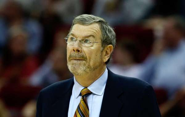 Brooklyn Nets Head coach P.J. Carlesimo waits on