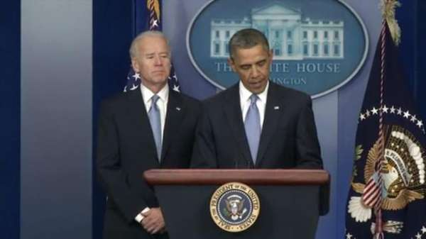 President Barack Obama praises the bill that staves