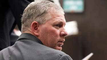 Lenny Dykstra is seen during his sentencing for