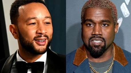 John Legend, left, said that politics has nothing