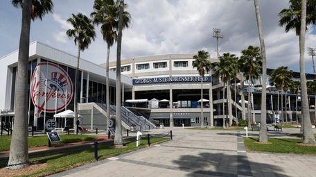 George M. Steinbrenner Field in Tampa, Florida, is
