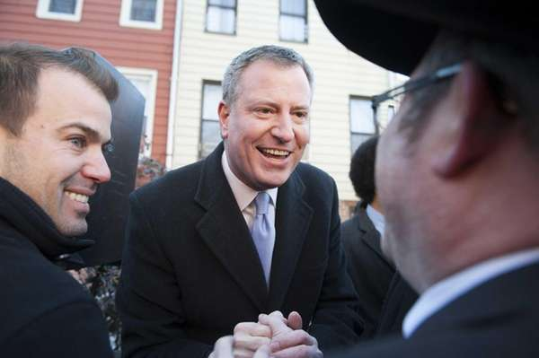 New York City Public Advocate Bill de Blasio,