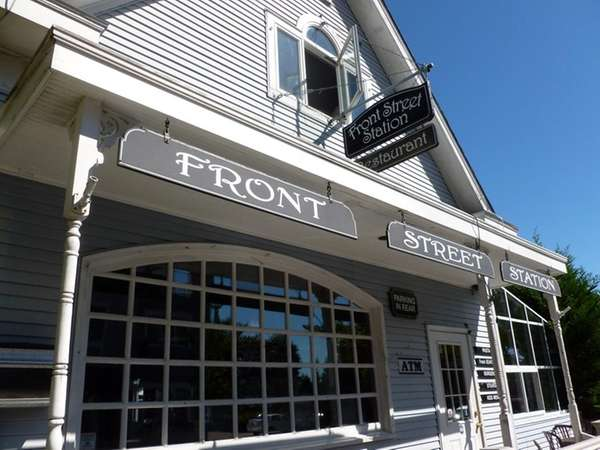 Front Street Station in Greenport. (Aug. 12, 2012)
