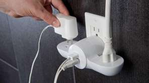 Quirky Pivot Power Mini is a smallpower strip