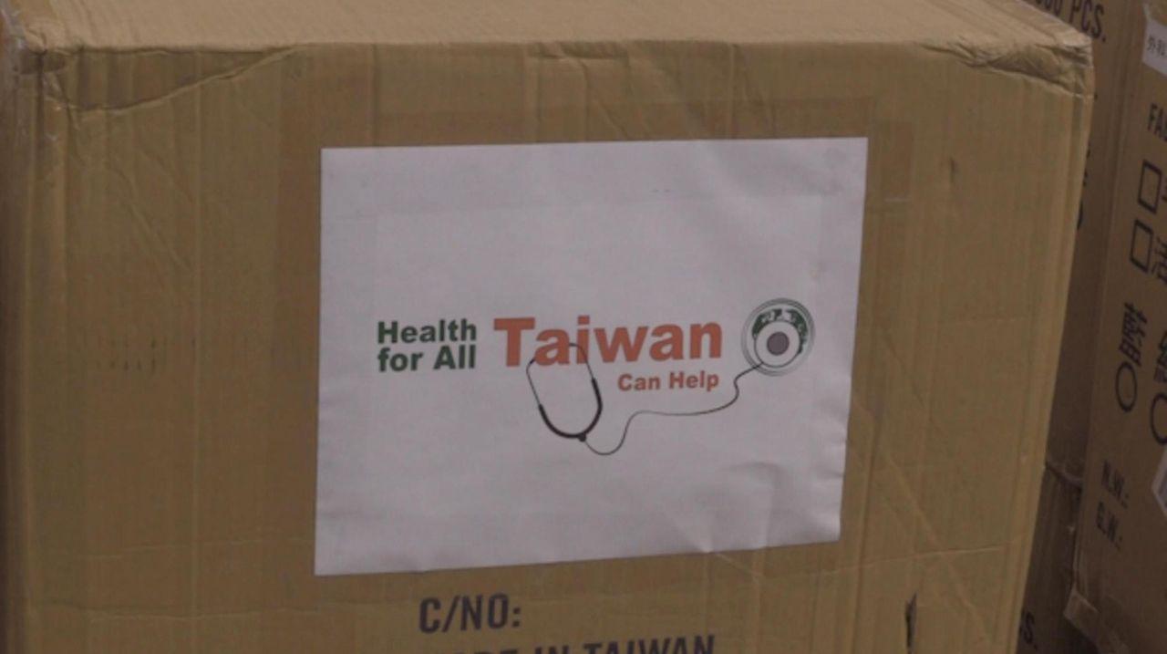 Taiwanese Ambassador Lily Hsu on Tuesday donated 50,000