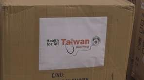 Taiwanese Ambassador Lily Hsu on Tuesday donated 50,000