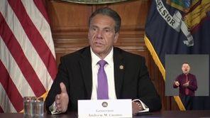 Gov. Andrew M. Cuomo on Tuesday said Mayor