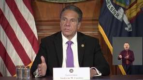 Gov. Andrew M. Cuomo on Tuesday said Mayor