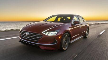 Hyundai's 2020 Sonata Hybrid models is a mid-sized